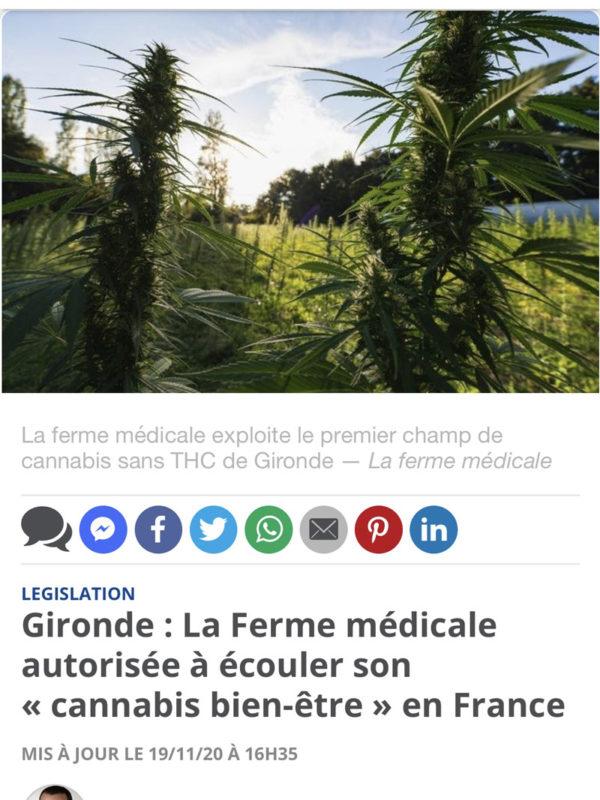 La Ferme Medicale-article 20min
