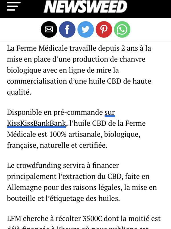 La Ferme Medicale- article-Newsweed-2_3